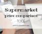 UK supermarket price comparison tool