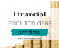 Financial New Year's Resolutions 2022